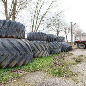Použité pneumatiky a dvojmontáže rôznych rozmerov